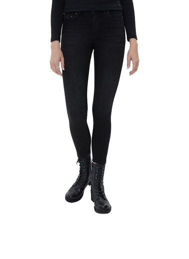 Loft Loft Nıcole Yancy Black Wash Kadın Kot Pantolon LF2025596 LF2025596001 Siyah